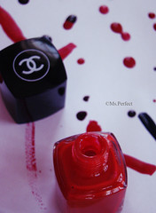Color U'r Life With Chanel =p (Ms.Perfect `{Offline}) Tags: life pink blue red color fun colours nail polish ur chanel part1 msperfect