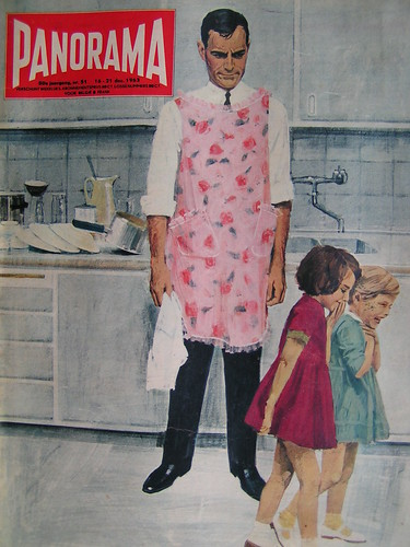 cover, 'daddy is doing the dishes'