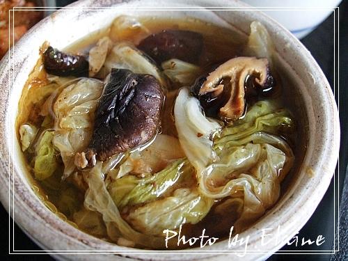 香菇白菜湯
