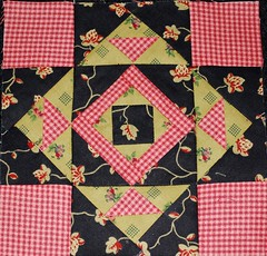 Nearly Insane Block 3 (pipersquilts) Tags: liz insane quilt blocks patchwork lois nearly