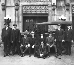 Seattle Police Department Dry Squad, 1921 (Seattle Municipal Archives) Tags: seattle 1920s prohibition policeofficers policemen seattlepolicedepartment seattlemunicipalarchives