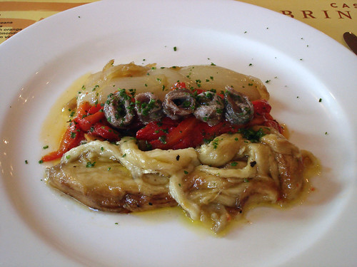 Escalibada with Anchovies