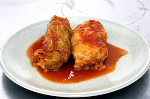 stuffed cabbage (golubtsy)