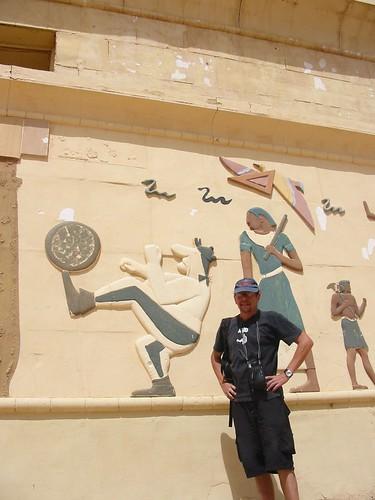 Bij de Egyptische Obelix