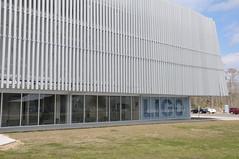 LIGO Science Education Center (Jim Shank) Tags: louisiana physics ligo wavewall dsc4684 ligolivingstonobservatory gravitationalwavedetector