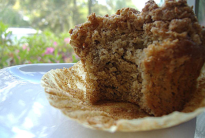 Banana Muffins w/ Streusel Topping | Genesis of a Cook