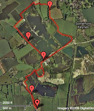4.2mi Walking Route from Orchard Cottage