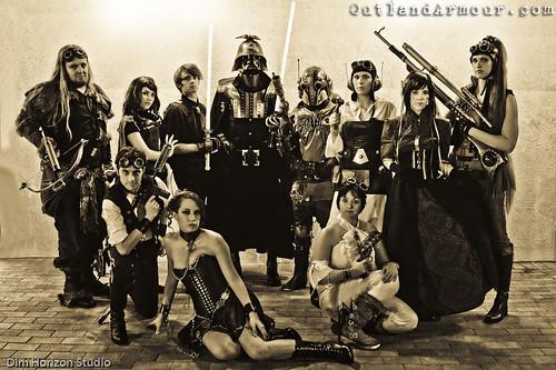 Steampunk Star Wars Group