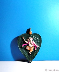 Ganesha 358 (ramakan) Tags: inspiration wall feast ganesha eyes dancing group lord days hanging 365 fibre pillayar vinayagar ganapathi