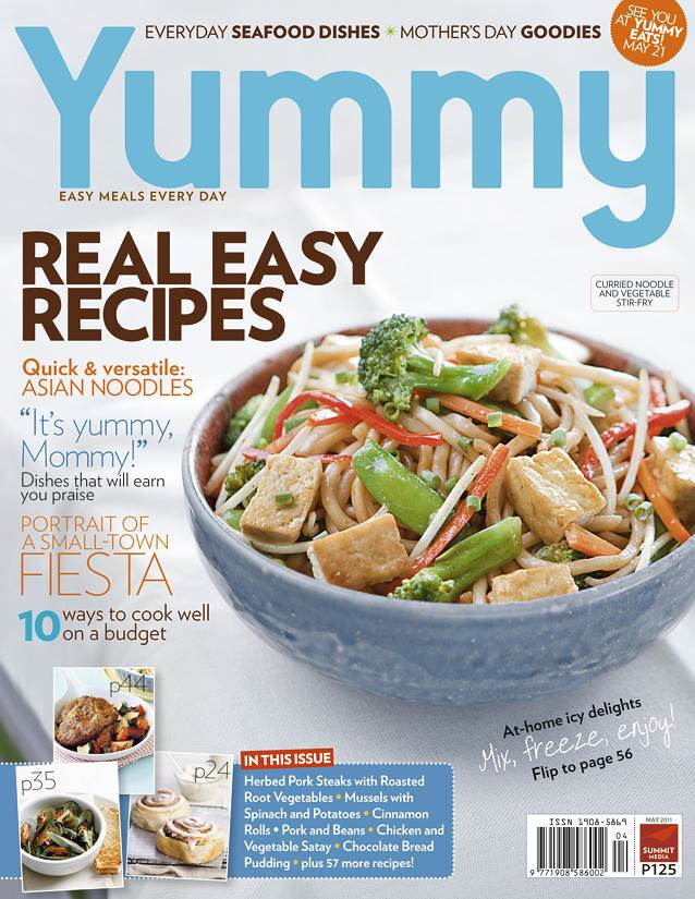 Yummy May 2011 cover photo
