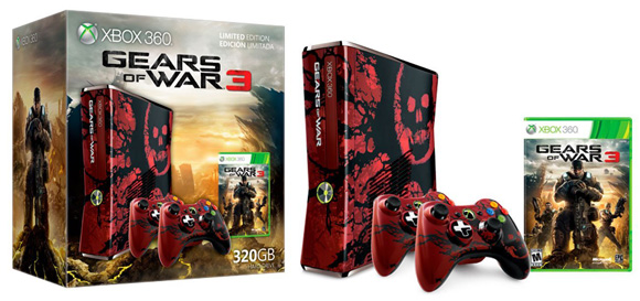 Gears of War 3 Xbox 360 Limited Edition