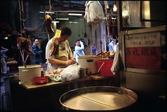 HK/时代广场附近的鱼市 (bomb_bao) Tags: hk film kodak contax 135 t3 香港 e100vs 时代广场 铜锣湾 鱼市 201102 时代广场附近的鱼市