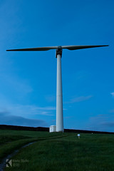 Chelker Turbine (Kiseki Studio) Tags: water yorkshire reservoir windturbine nd4 chelker