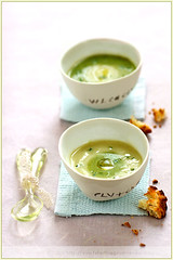 A Two Vegetable Soup (La tartine gourmande) Tags: color vegetables fun soup design play feature bicolor designsponge foodstyling foodphotographer latartinegourmande