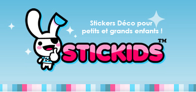 Logotipo final Stickids