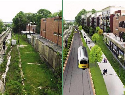 the Atlanta Beltline, before and after