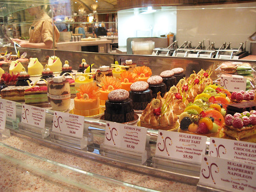 Jean-Philippe Patisserie Pastry Display