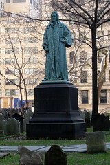 NYC: Trinity Church and Burial Ground - John Watts by wallyg, on Flickr