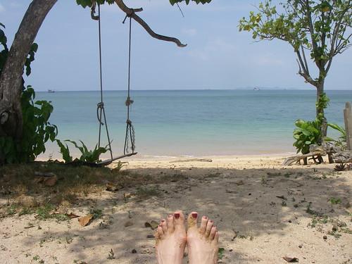 Beach at Libong