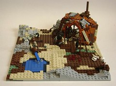 Post Apoc. Shack (Battledog) Tags: war post lego future shack apoc