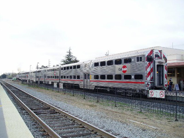 Caltrain coaches