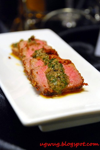 Pink Pepper Crusted Tuna - Sentidos Tapas