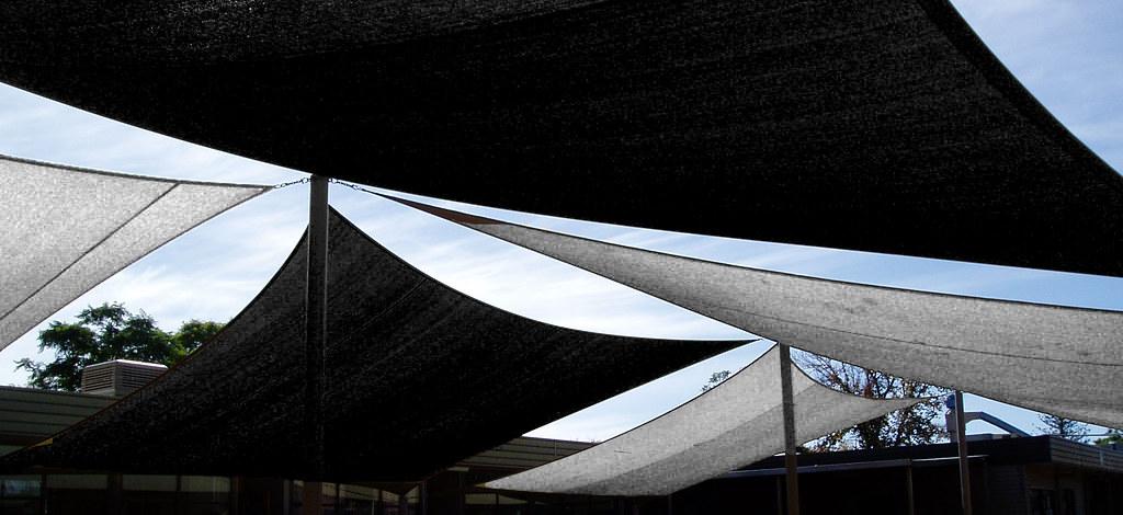 shade sails - pattern
