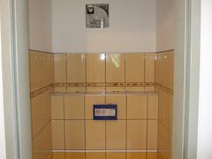 Toilet wall - tiles