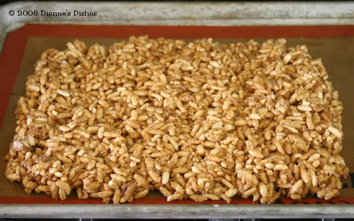 "Peanut Butter ""Granola"" Squares: Ready to Bake"