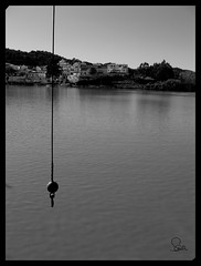 Sanlucar de Guadiana ByN (Laura Crdenas) Tags: byn portugal rio huelva aparece pendulo sanlucardeguadiana desaparece