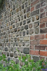 Brick and Stone Artistry (JKissnHug - Been busy birding) Tags: michigan annarbor nicholsarboretum peonygarden upclosephotography