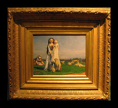 Ford Madox Brown (Martin Beek) Tags: detail art museum victorian culture oxford preraphaelite universityofoxford ashmolean ashmoleanmuseum fordmadoxbrown outdoorpainting victorianart preraphaelitelandscape artgalleriesandmuseums victorianartists preraphaelitism artgalleryandmuseums paintingandantiquities prettybaalambs ashmoleanc19collection galleriesandmuseums preraphaelitepainters