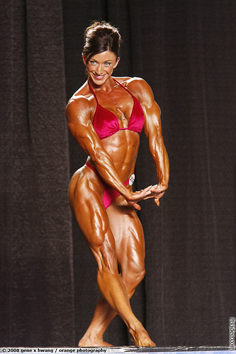 Amber Defrancesca Winner of The 2008 NPC Jr. Nationals.
