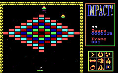 Impact - DOS Game (S.A.L.) Tags: windows favorite game ball computer high graphics funny flat little emulator bricks mother deep favorites balls amiga games nostalgia mum dos software impact mamma favourites linux record commodore nostalgic bonus lory cpu clone favourite bouncer simple 2d score c64 remake extra source bounce levels madre lifes nemesis giochi bouncing underdog gioco arkanoid highscore breakout abandonware ibmpc emulation msdos emulators slowdown mattoni pallina loredana preferito underdogs mattone dosbox 8086 8088 mattoncini theunderdogs arcanoid nemesys audiogenic cotturone