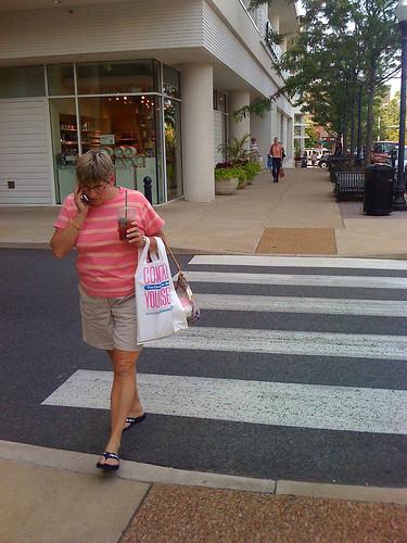 Walking & Talking - Taken With An iPhone