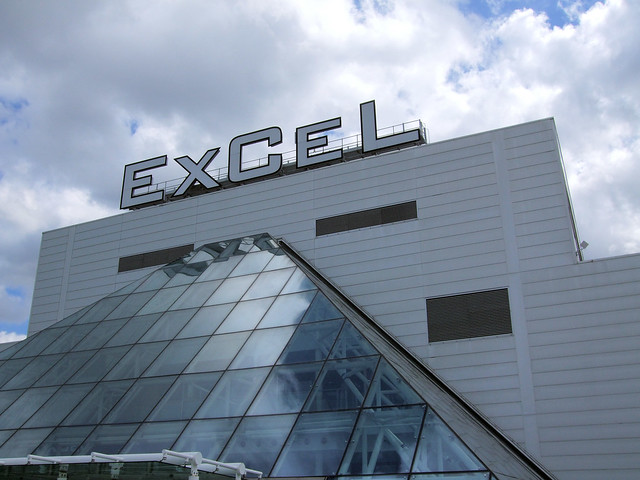 ExCeL Exhibition Centre , Royal Victoria Dock, Silvertown, East London.