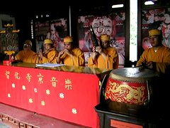 Zhihua temple music show (asoee) Tags: china temple buddhist zhihua