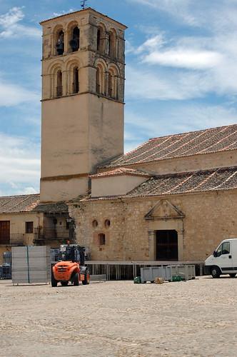 Torre de San Juan y escenario