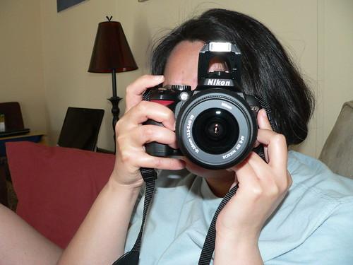 Amanda and Nikon