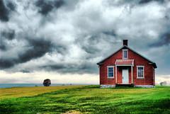 Amish One Room School House - David Kozlowski