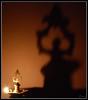 KuthuVilakku (Prasanna S Krishnan) Tags: shadow lamp naturallight tabletop d80 18135mm nikond80 kuthuvilakku
