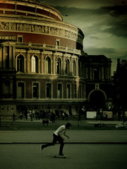 . (o.diaries) Tags: london hall albert royal skater psychogeography odiaries piotrobal