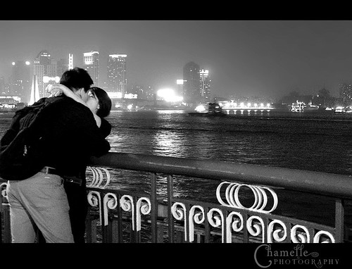 Lovers Kisses Images Lovers Kissing at The Bund
