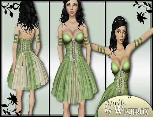 Sprite in meadow green by Wishbox