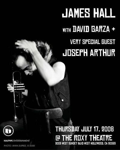James Hall/ Joseph Arthur 7/19