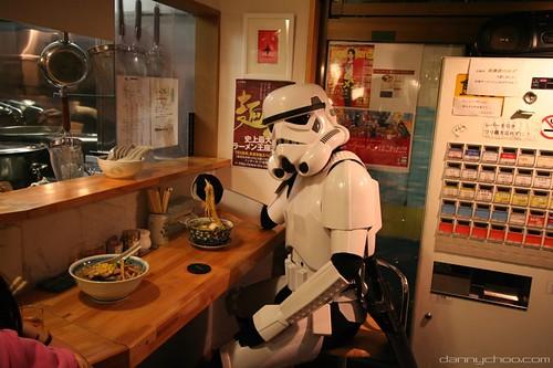 Stormtrooper and Ramen