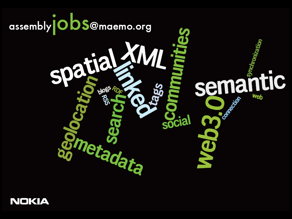 maemo-job-data