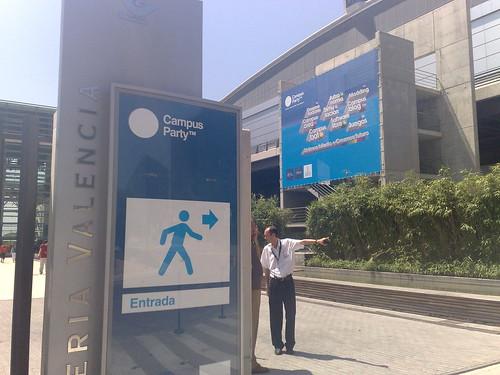 Feria de Valencia - Entrada a la Campus Party