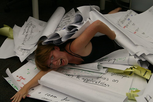 Save me, I'm drowning in data! by quinn.anya, on Flickr