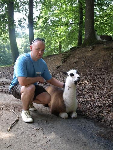 Me and llama